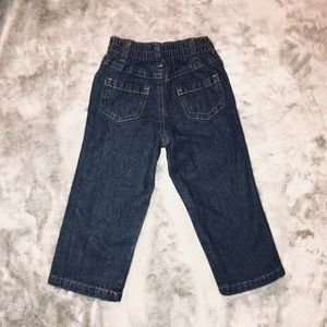 Matching Sets - 24m- Baby Boy Plaid Shirt, Puffer Vest & Jeans Set